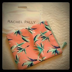 Rachel Pally floral zipper clutch